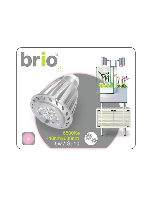 Brio35 - LED bulb, grow light spectrum for flowers