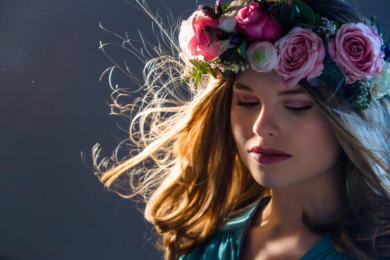 Sophie | Bridal Studio Shoot | Portrait Photography