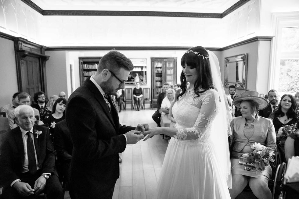 Pendrell hall Wedding Photography
