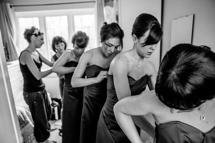 Alternative Birmingham wedding photograp