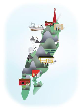 SES illustration of Andoya
