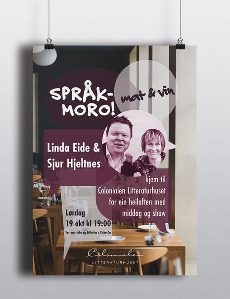 Colonialen Litthuset Språkmoro event