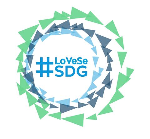 #LoVeSeSDG logo