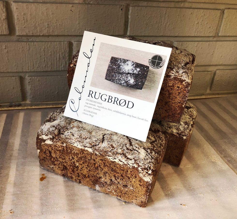 Rug bread from Colonialen Bakery