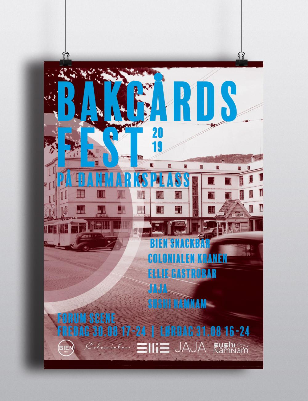 Bakgaardsfest Poster
