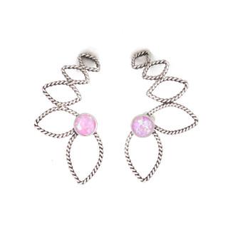 2 Earclimbers, Pink Opal (Custom).jpg
