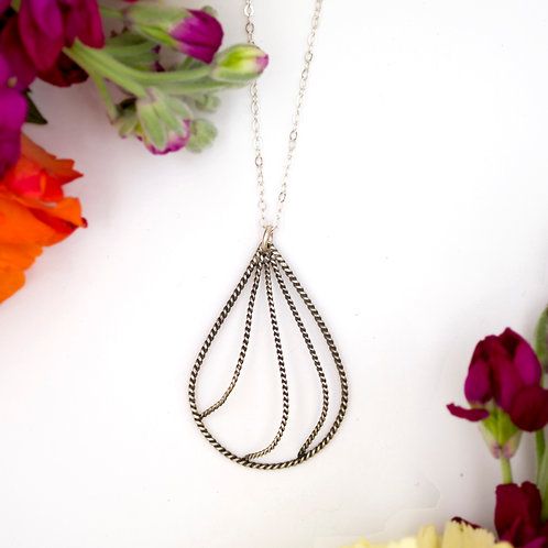 Wave Drops Necklace