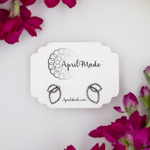 Leaf Bud Post Earrings