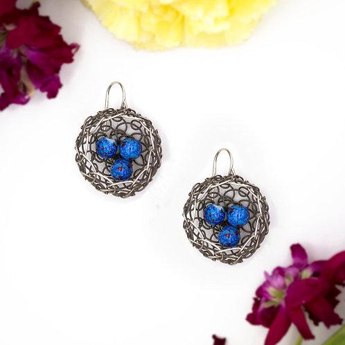 Woven Nest Earrings