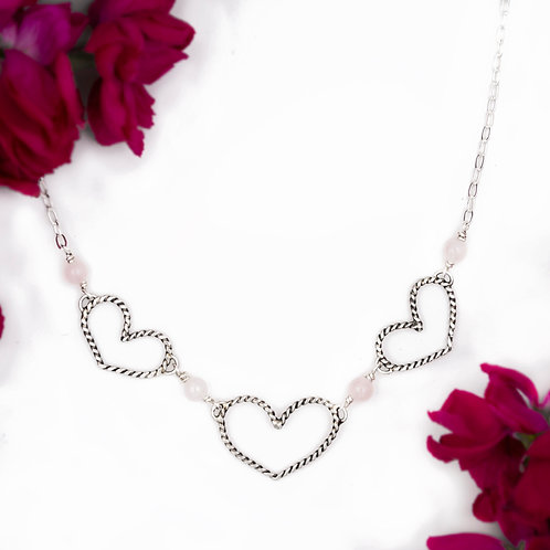 Pretty Little Hearts Necklace