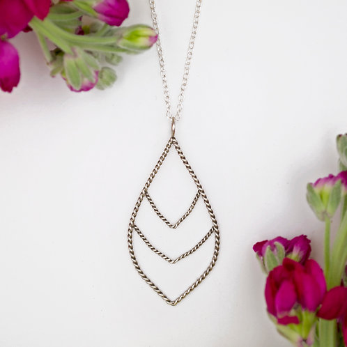 Triple Point Necklace