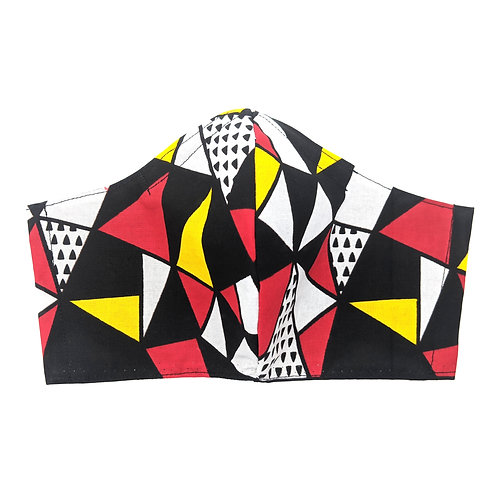 Geometric Print Adult Mask: Ready to Ship
