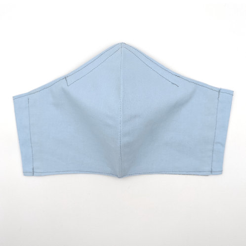 Sky Blue Adult Mask: Ready to Ship