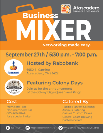 Business Mixer Flyer