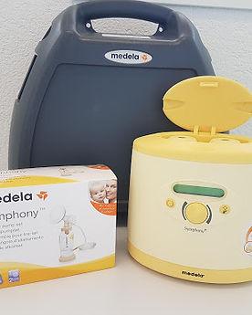 Milchpumpe und Abpumpset von Medela mieten in der Drogerie im SChwamedingerhuus Zürich