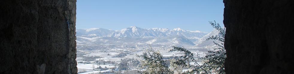 Communauté de communes conflent Canigou Canigó territoire hiver neige