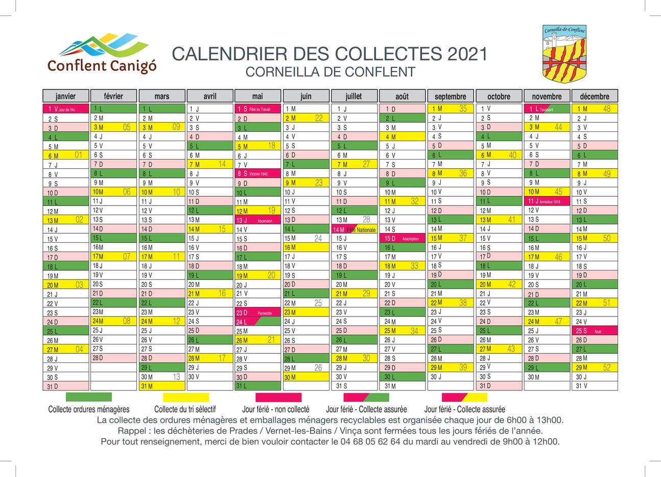 calendrier 2021- CORNEILLA DE CONFLENT-1