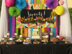 Colorful Dessert Bar Sarasota