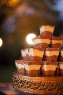 Dark andWhite Chocolate Mousse Tampa