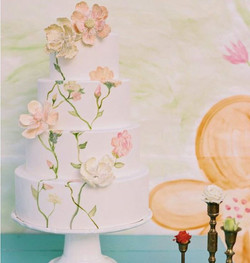 Sugar Flower and Hand Painting