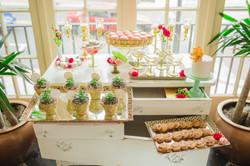Pink and Gold Dessert Bar Tampa