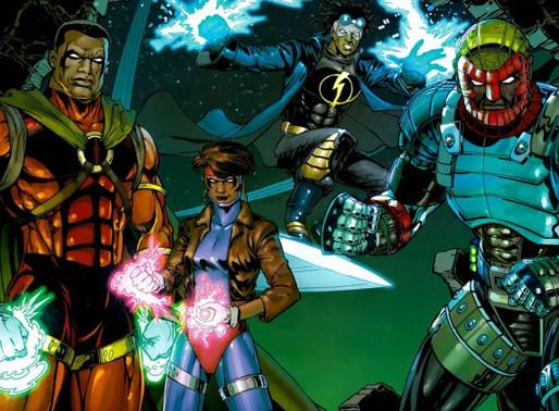 DC FanDome | O retorno do universo de Milestone revela uma nova origem para Super-Choque