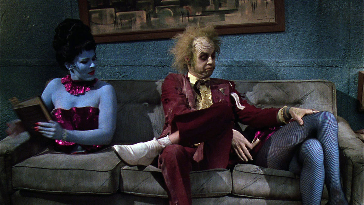 "Cena do filme ""Beetlejuice"""