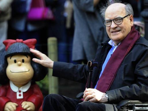 Quino, criador de Mafalda, morre aos 88 anos