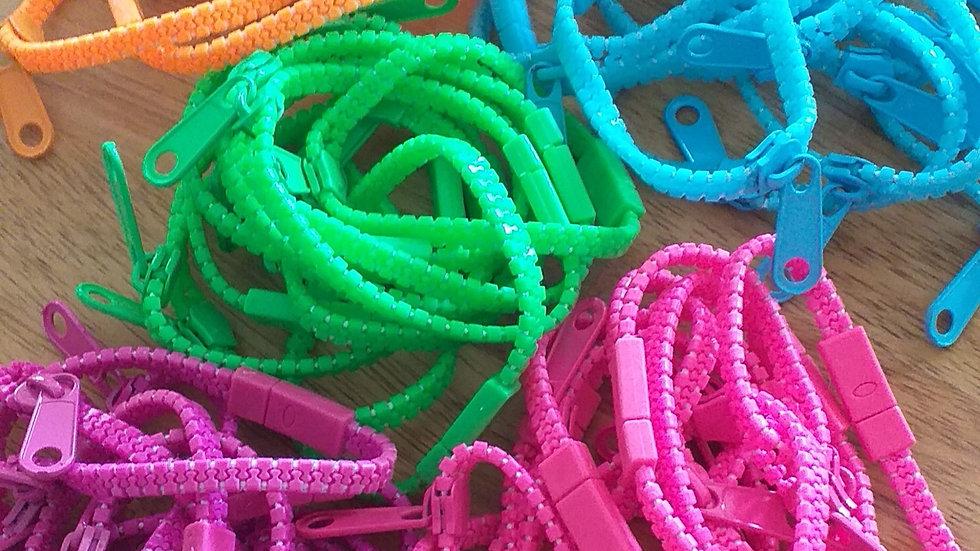 Zipper Bracelets Fidget