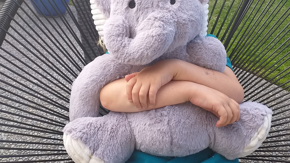 Sensory Weighted Pet Elephant - 1kg (approx)