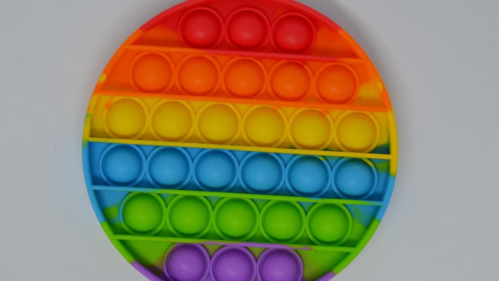 Pop It Bubble Disc Rainbow