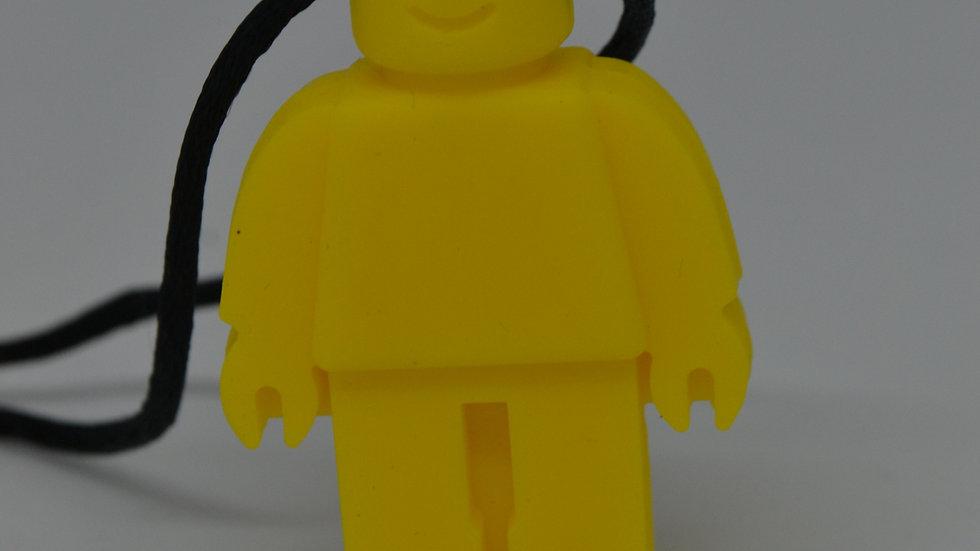 Chewable Yellow Robot