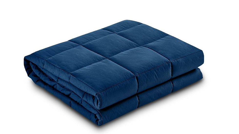 Single 5KG Weighted Blanket - Blue