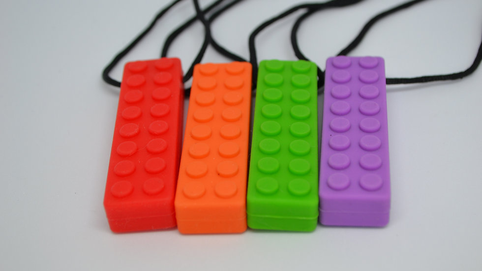 Chewable Necklace - Block - Six Colours