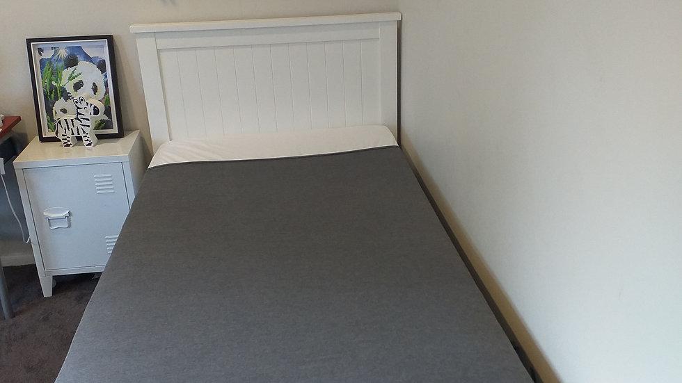 Sensory Calming Sheet - Single  Grey 95% Cotton - Made in NZ