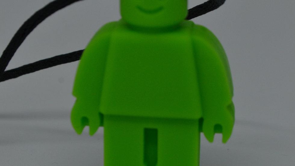 Chewable Green Robot