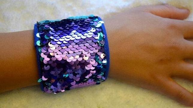 Mermaid Sequin Wrist Fidget