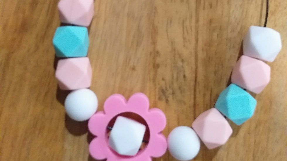 Chewable Flower Necklace
