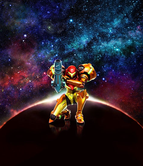 Ander Alzola - Metroid: Samus Returns - Nintendo - Wallpaper