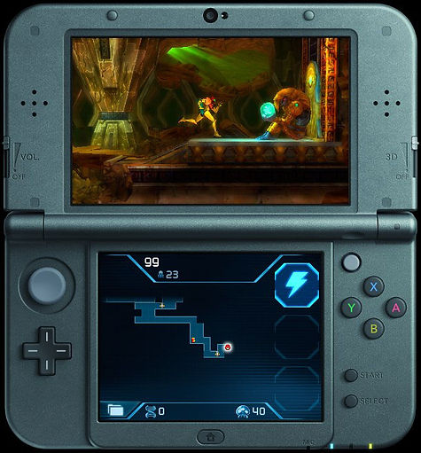 Ander Alzola - Metroid: Samus Returns - Nintendo - Screenshot