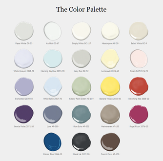 Benjamin Moore Announces Color Trends 2016!!