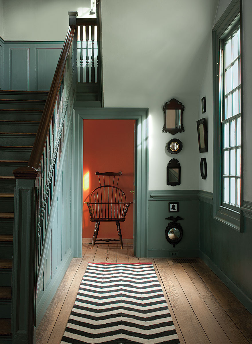Williamsburg Color Collection by Benjamin Moore can be found at SF PaintSource in San Francisco - your neighborhood paint stores