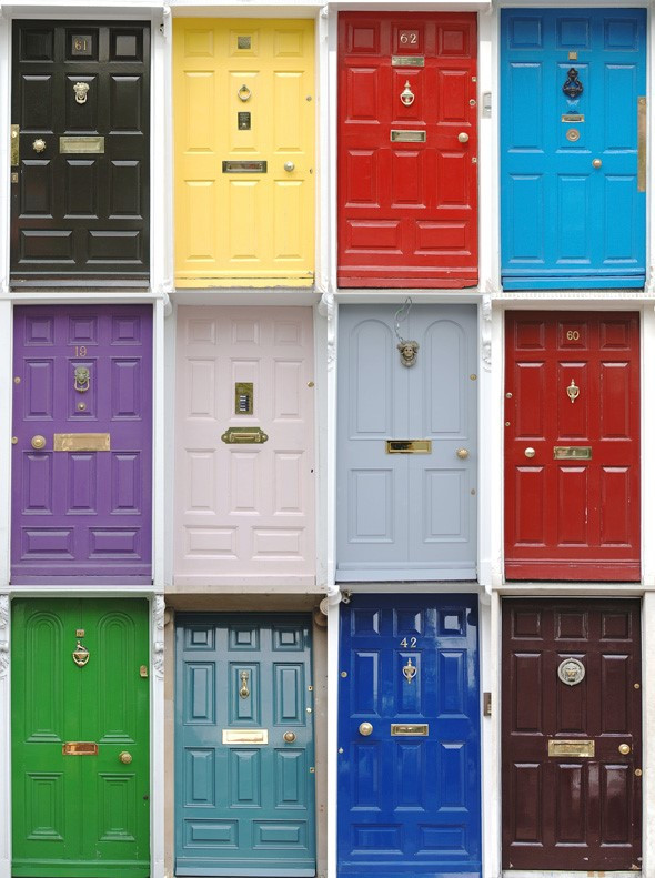 What the color of your front door says about you - SF PaintSource Benjamin Moore Store