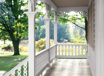 How to Paint a Checkerboard Floor on Your Porch