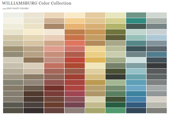 Williamsburg Color Collection