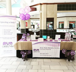 We're here today at the Baby Tots Expo talking with people about home birth. If you're in the area s
