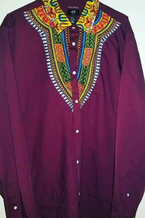 dashikolors casual shirt order size