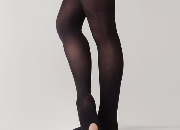 Black Commercial / Contemporary Tights - Girls/Ladies