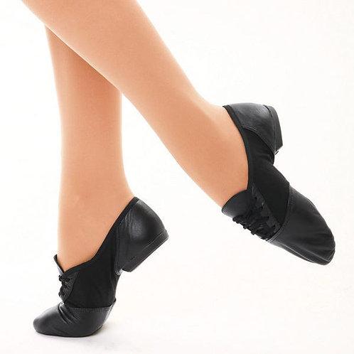 Black Split-Sole Jazz Shoes