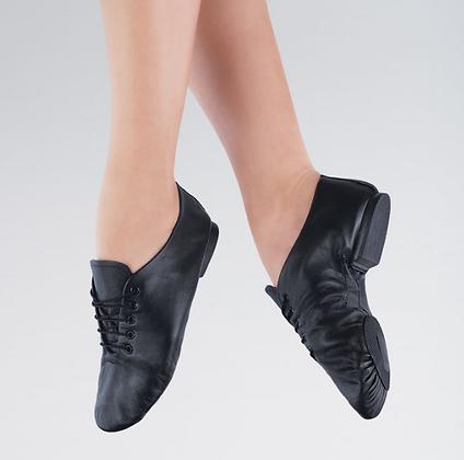Black Split Sole Jazz Shoes - Boys